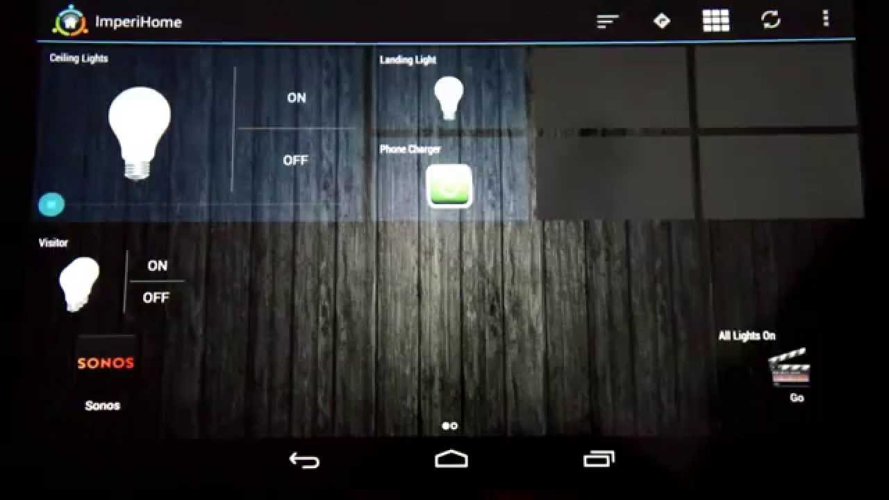 Android Controlled Home Automation - Basic Imperihome & Tasker integration