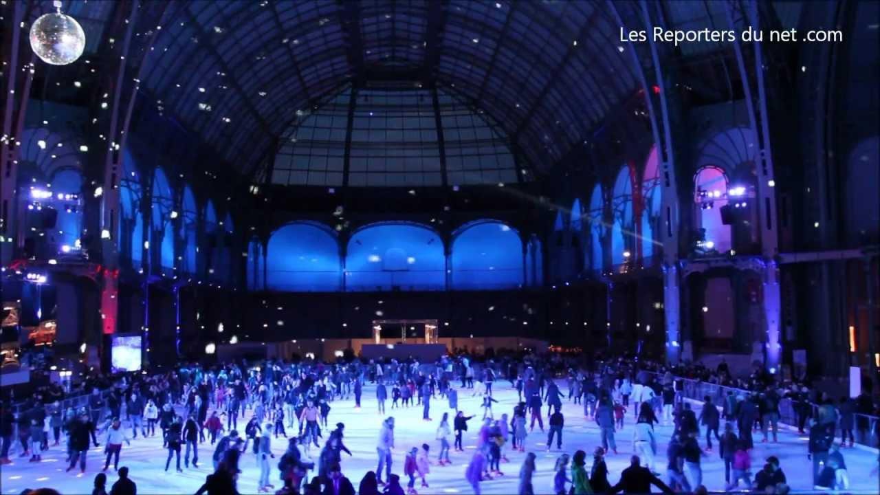 Patinoire à Paris Au Grand Palais Youtube