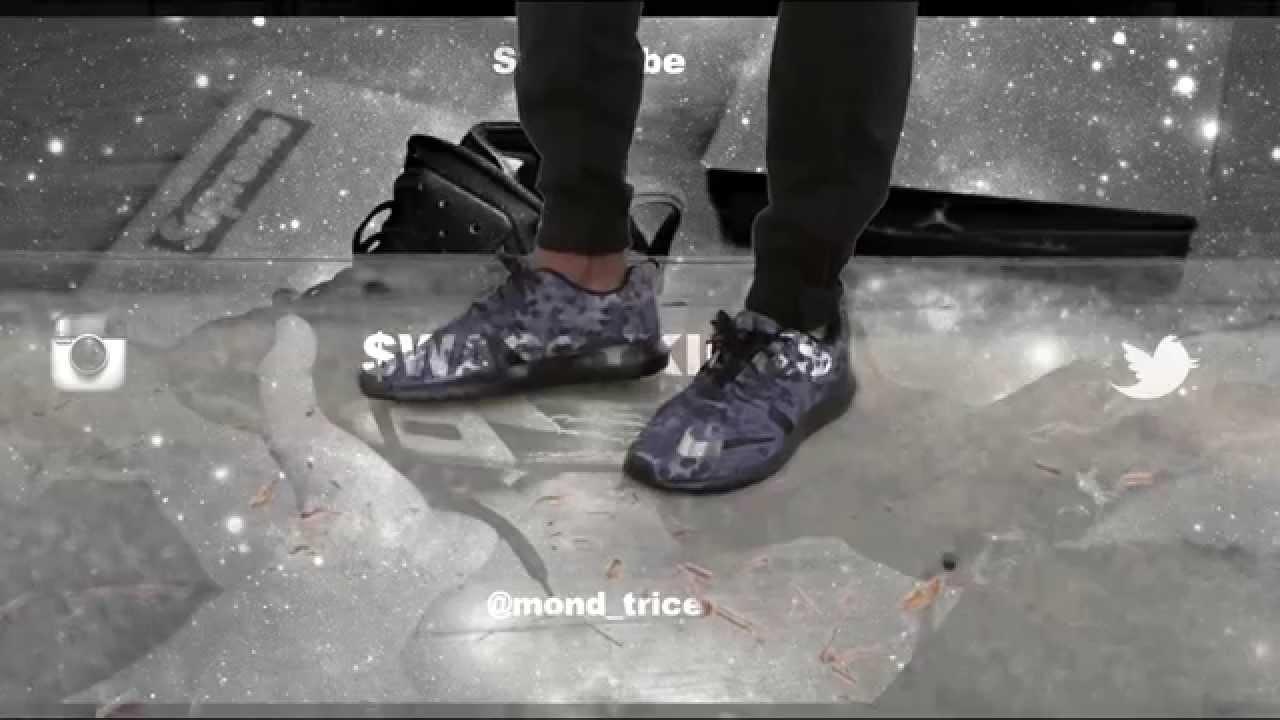 brand new e1a25 124f1 Nike Roshe Run NM FB review w on feet - YouTube