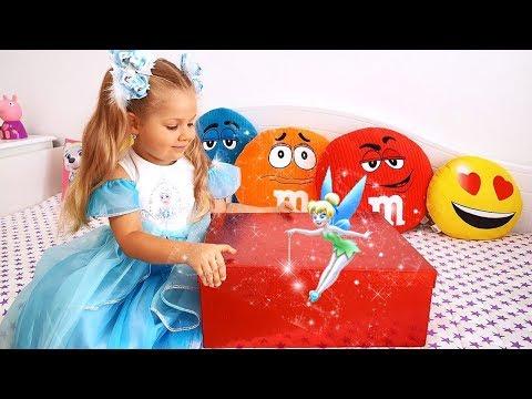 लड़कियों के लिए डियेना का जादुई बक्सा