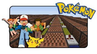 "Pokemon ""Theme"" (Indigo League) - Minecraft Xbox 