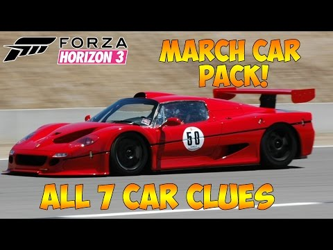 Forza Horizon  March Car Park