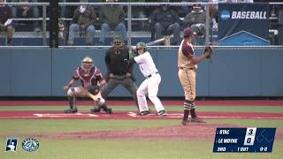 2018 NCAA D2 Baseball East Regional Highlights - #2 STAC vs. #3 Le Moyne