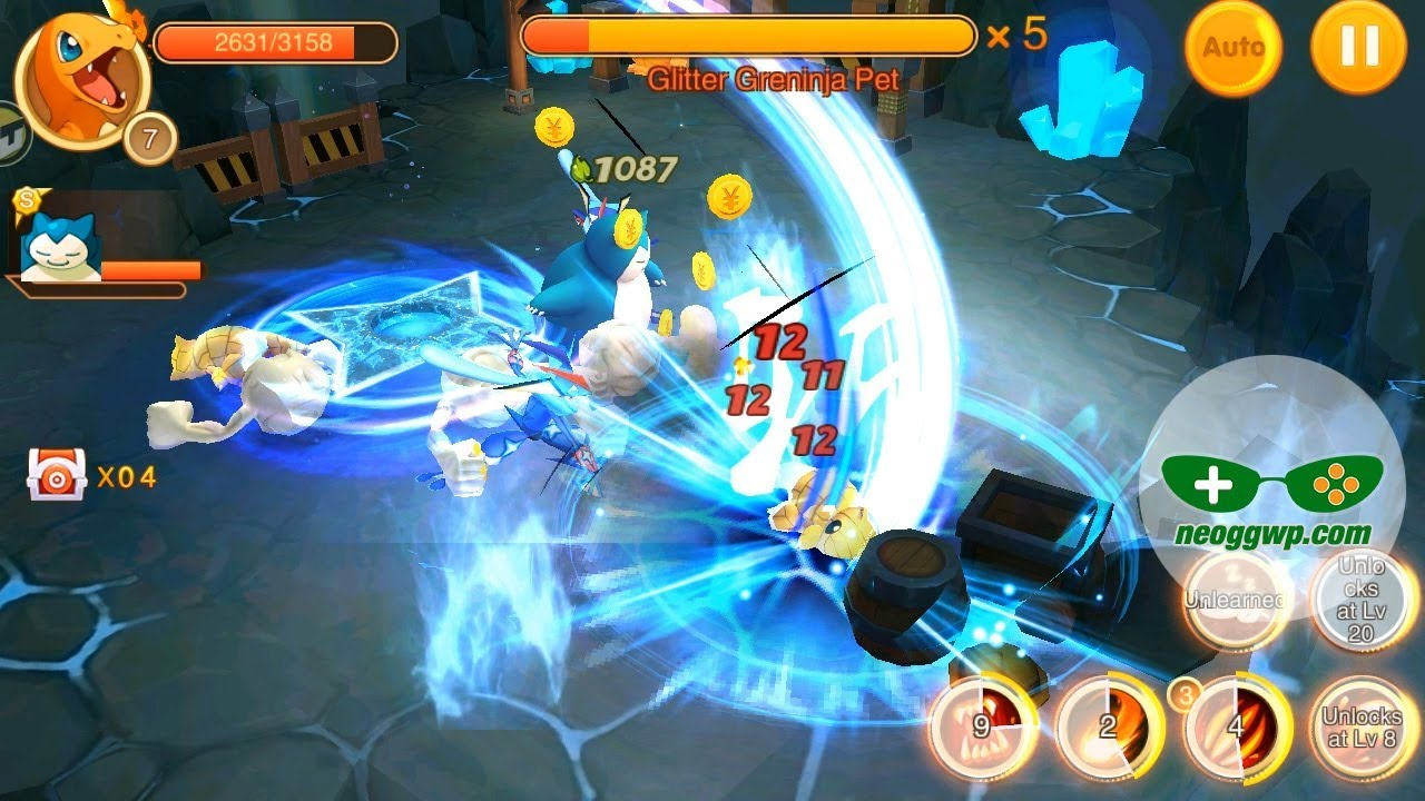 Pockie Trainers (Android iOS APK) – Action RPG MMO Gameplay  #Smartphone #Android