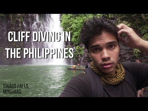 Cliffing Diving at Tinago Falls (Illigan City, Mindanao) 🏊