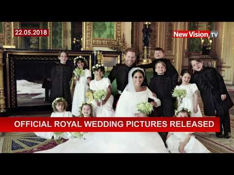 Official royal wedding pictures released