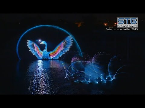 [4K] Futuroscope Spectacle de nuit Lady O Futuroscope 2015