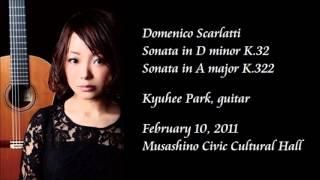 D. Scarlatti: Sonata K.32 & Sonata K.322 - Kyuhee Park