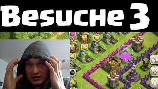 BESUCHE UND REVIEWS 3 || CLASH OF CLANS || Let's Play Clash of Clans [Deutsch/German HD]