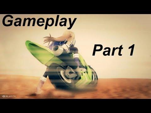LIL GIRL DRIVING HEAVY BIKE   Superdimension Neptune VS Sega Hard Girls   Gameplay   Part 1  