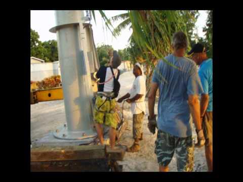 Majuro, Marshall Islands, Bergey Excel 10-KW Wind Turbine Installation