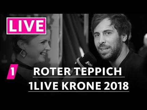 1live Krone 2018 Der Rote Teppich Youtube