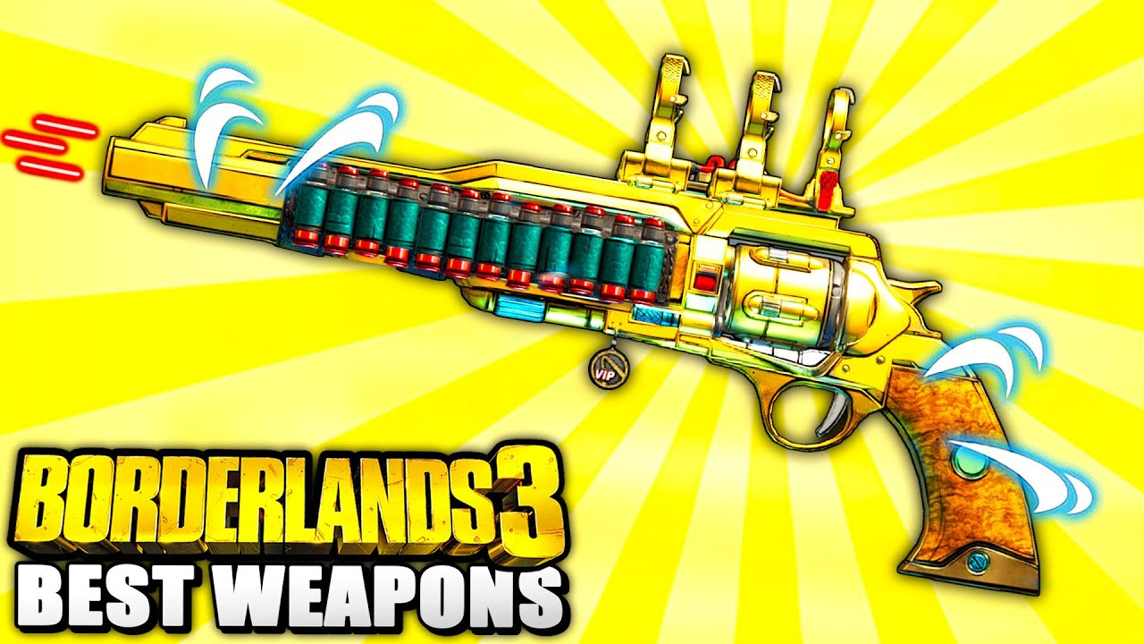 Borderlands 3 - 10 Powerful LEGENDARY WEAPON DROP Locations YOU NEED TO GO TO! thumbnail