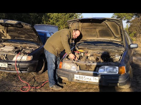 Перекупы В ЛЕСУ НАШЛИ ИДЕЛАЛЬНЫЙ ФОРД СИЕРРА Cosworth И ОЖИВИЛИ!!!