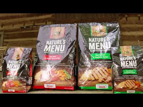 Mossy Oak Nature's Menu Premium Dog Food