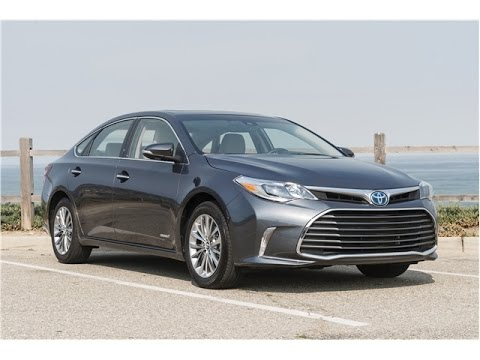 Toyota Avalon Hybrid 2017 Car Review