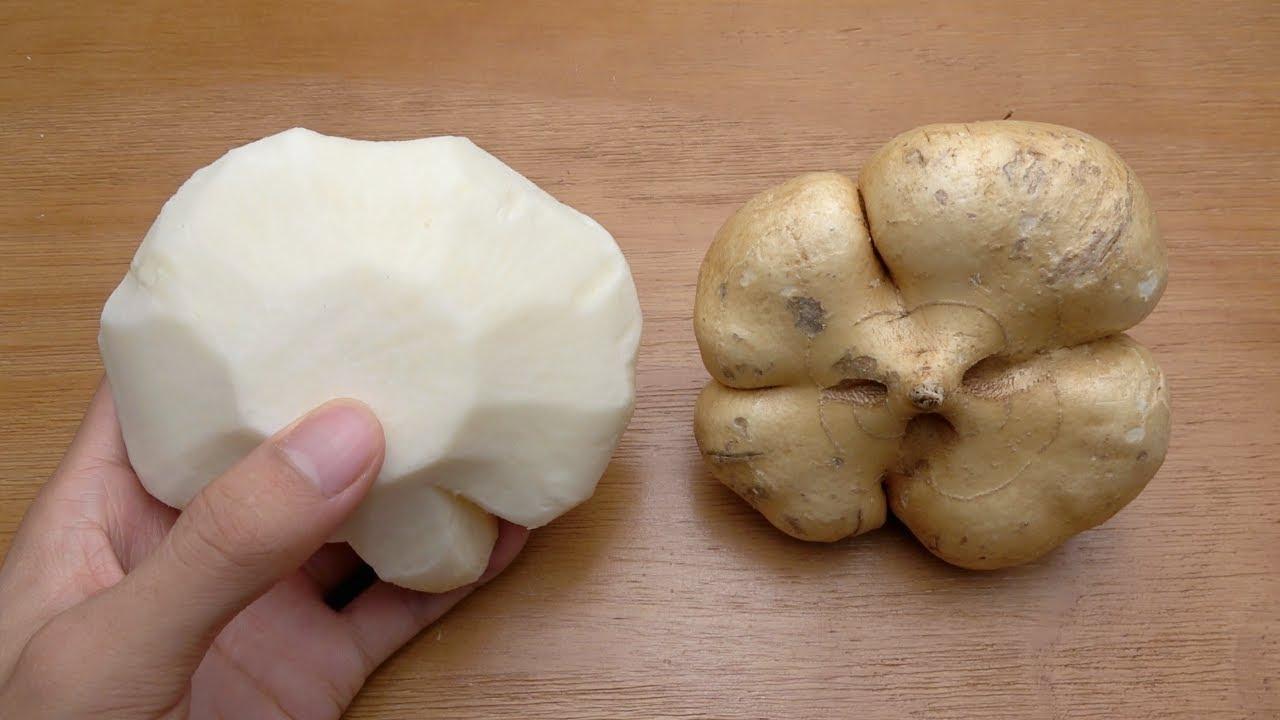 可以直接生吃的凉薯,不但口感脆爽汁水也非常的多