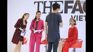 Minh Hằng nhép hit của Hòa Minzy cùng hotboy Quốc Anh tại The Face