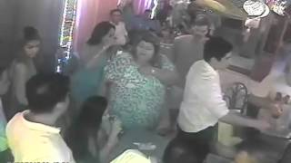US Soldiers Brawling With Filipino Cops at KTV Bar in the Philippines