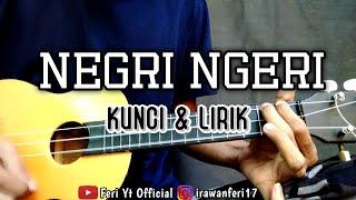 Negri Ngeri - Marjinal (Kunci & Lirik) cover kentrung ukulele by Feri Yt Official
