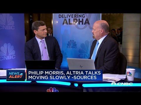 Philip Morris, Altria Talks Moving Slowly