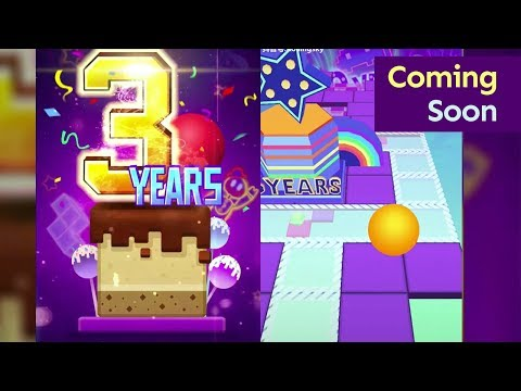 Rolling Sky - 3 Years Anniversary Level Coming Soon!