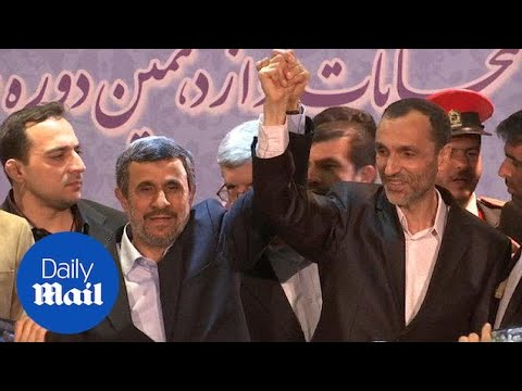 Mahmoud Ahmadinejad has registered to run in Iran's election - Daily Mail