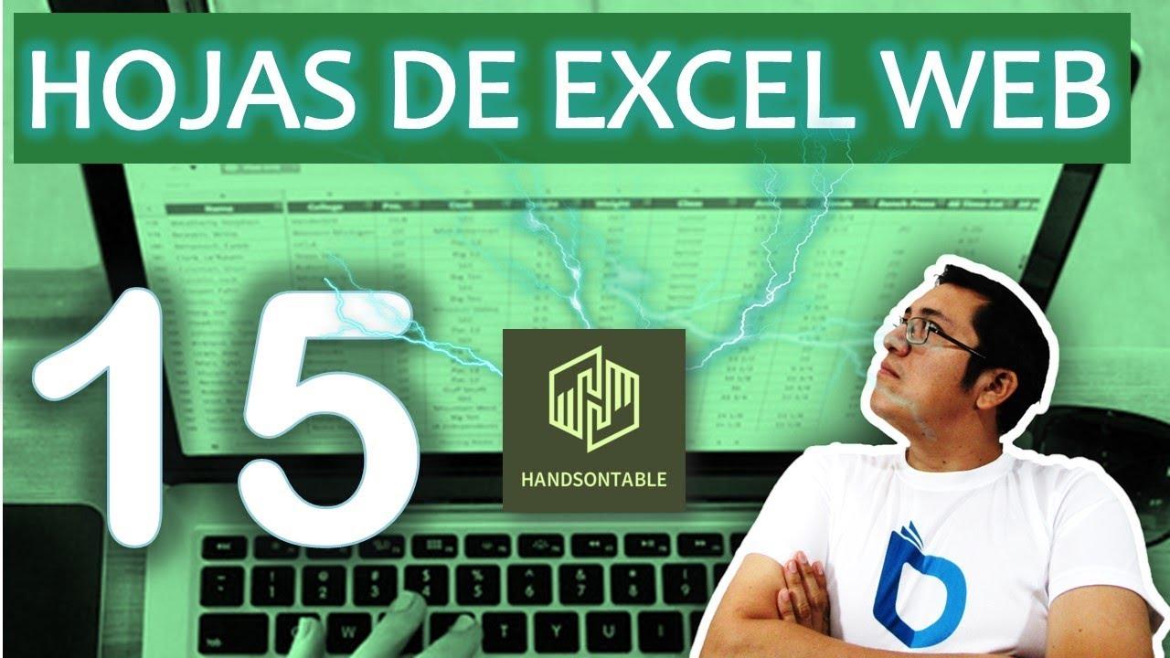 Angular 5 y Handsontable (excel web ) - handosontable(15)