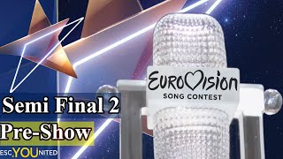 Eurovision 2019: Semi-Final 2 PRE-SHOW (From Press Center)