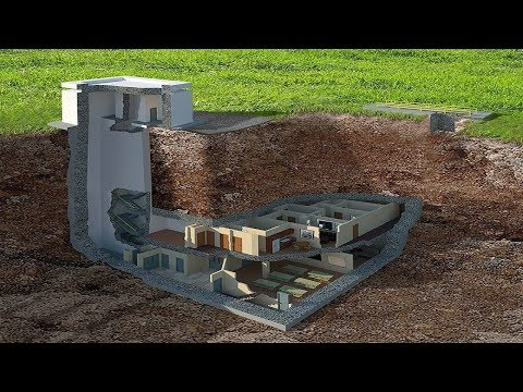 Luxurious Nuclear Bunker Which Can Withstand A 20-Kiloton Nuclear Blast