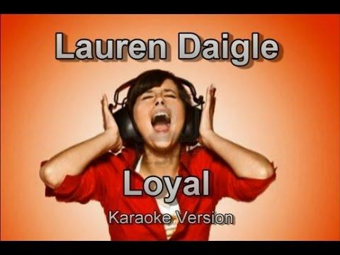 "Lauren Daigle ""Loyal"" BackDrop Christian Karaoke"