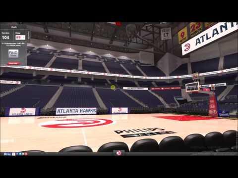 VirtualStadiumTour (NBA) - Philips Arena (Atlanta Hawks)