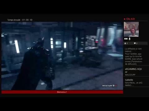 Gotham by night. #BatmanArkhamKnight Live