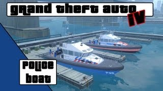 GTA 4 Police boat [NL]