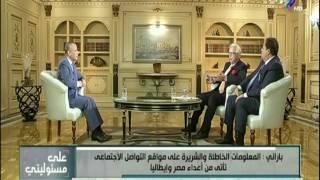 بالفيديو..' باراني': مصر أكثر أمنًا من فرنسا ومن عدة دول أوروبية