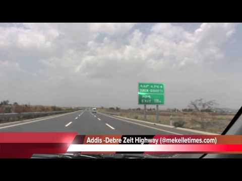 Trip to Ethiopia  -  ADDIS ABABA to DEBRE ZEIT HIGHWAY & DEBRE ZEIT LODGES