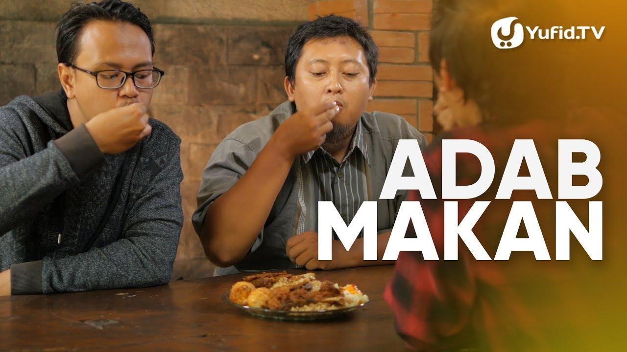Doa Makan dan Adab Makan (Etika Makan) LENGKAP 2019 - Panduan Ibadah dan  Adab dengan Ilustrasi