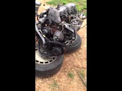 Jeep CJ7 Gets A Turbo Diesel Part 1