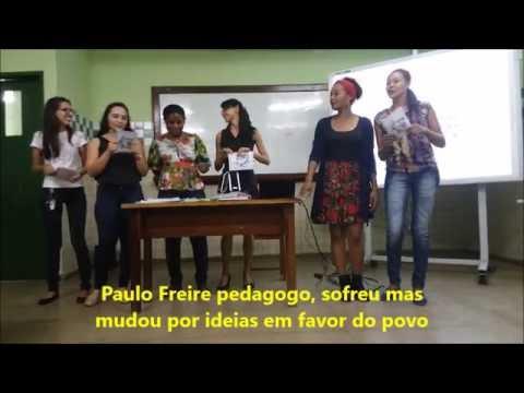 d078bfff1e Paródia Sobre Paulo Freire - YouTube