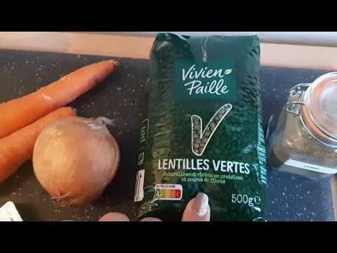 soupe-de-lentilles-au-cumin-#healthy---recette-facile