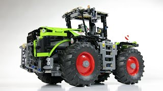 LEGO Technic 42054 CLAAS Xerion 5000 Trac VC - A & B-model Demo
