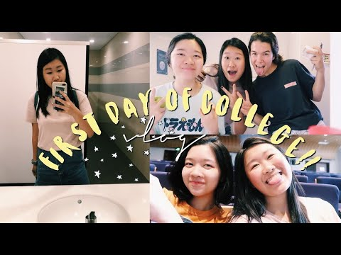 FIRST DAY OF COLLEGE VLOG: NYU SHANGHAI