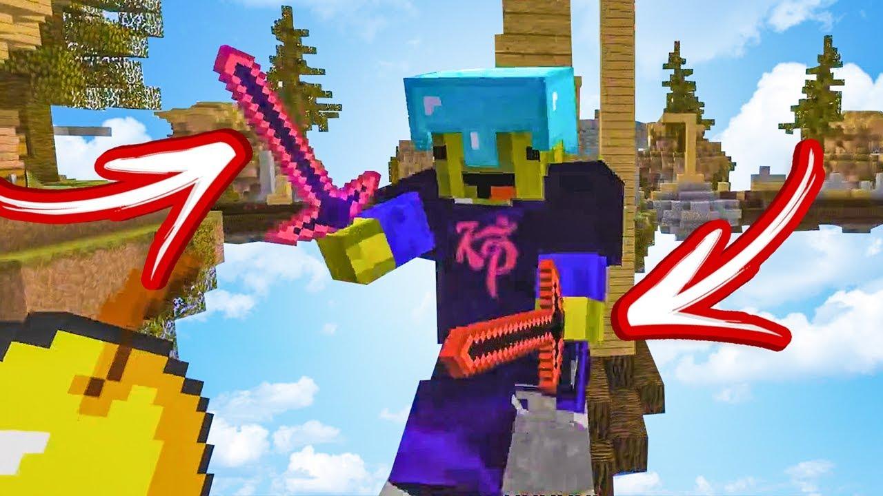 AANVALLEN MET TWEE ZWAARDEN! - Minecraft