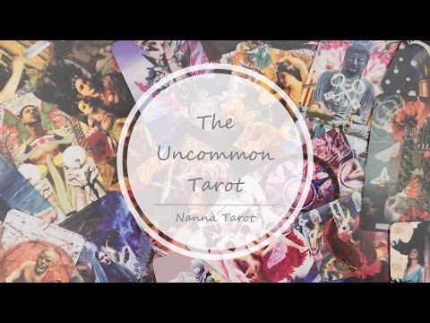 開箱  非比尋常塔羅牌 • The Uncommon Tarot // Nanna Tarot