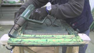 Corso di restauro lez n 4 la sverniciatura del legno - Sverniciare mobile antico ...
