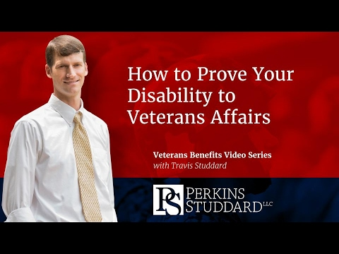 How to Prove Your Disability to Veterans Affairs