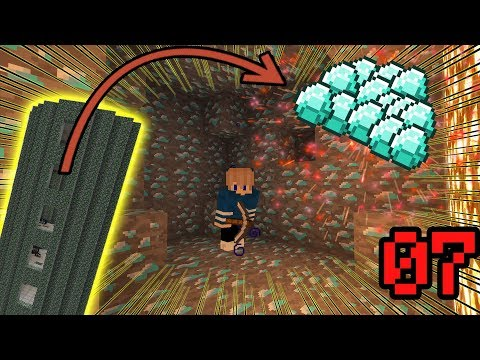 Minecraft Hexxit Tập 7 - Kim Cương Ở Khắp Mọi Nơi - Tấn Công Tháp Quái Vật Và Khu Mỏ Bỏ hoang !