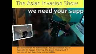 asian invasion show 29/0812 Dj Bini solo show