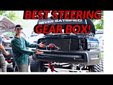 HOW TO FIX BAD STEERING!! REDHEAD STEERING BOX INSTALL!