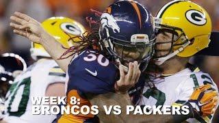 Broncos vs  Packers - Week 8 Highlights - 2015